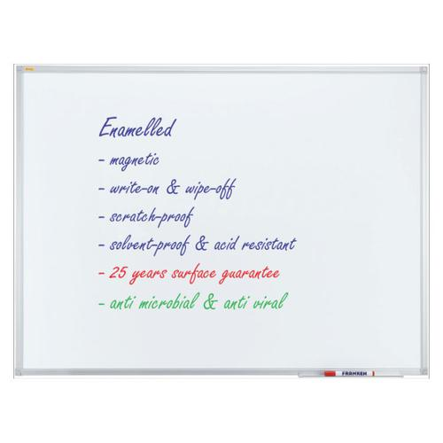 Whiteboard ECO Enamel Magnetic 200x100cm