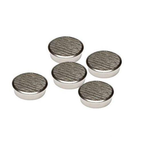 Franken Chrome Magnet Round 22mm Pk5