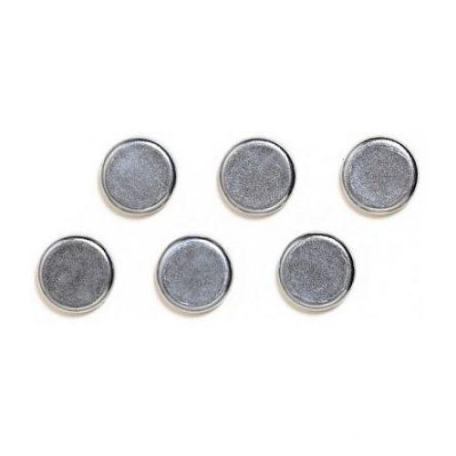 Franken Chrome Magnet Round 25mm Pk2