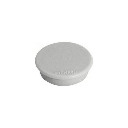 Franken Magnet Round 13mm Grey 10s
