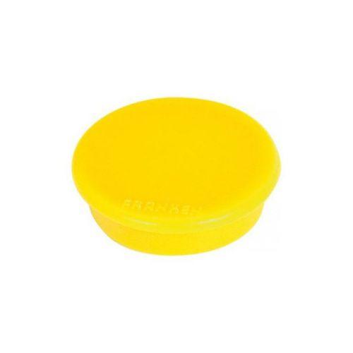 Franken Magnet Round 24mm Yellow