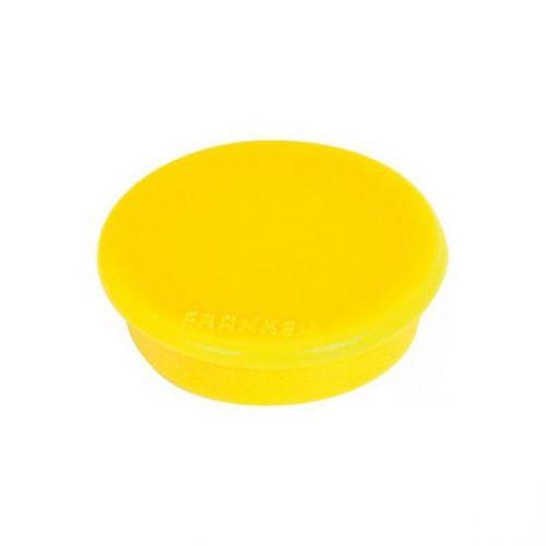 Franken Magnet Round 32mm Yellow