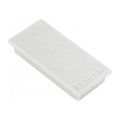 Franken Magnet Rectangle 23x50mm Grey