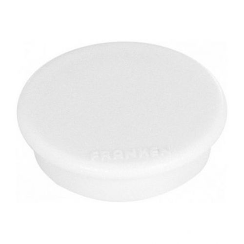 Magnet round 32mm pearl white Pk10