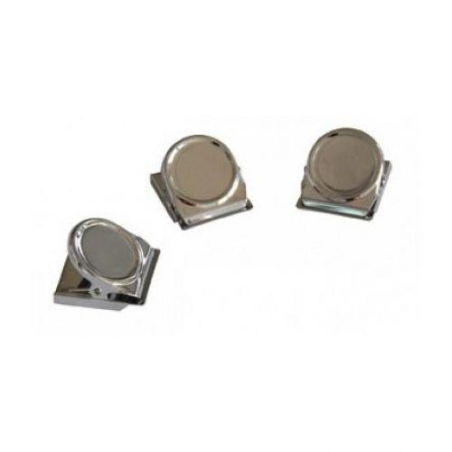 Franken Magnetic Clip 45x35mm Silver 3 Pcs