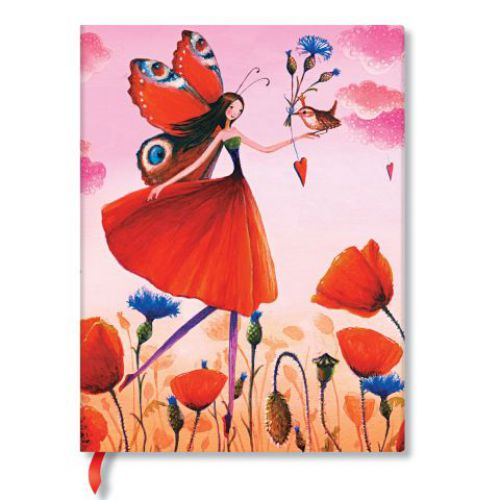 Paperblanks 5 Year Snapshot Journals Poppy Field Ultra size: 180x230mm 5 Year 192 pages weight 0.63 kg