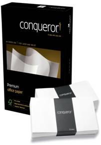 Conqueror Laid Oyster DL Envelope FSC4 110X220mm Sup/Seal Bnd 50 Box500