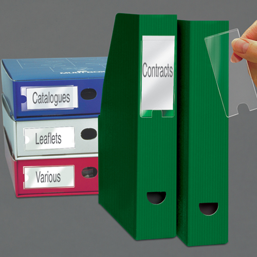 Label Holders and Inserts(PK6)