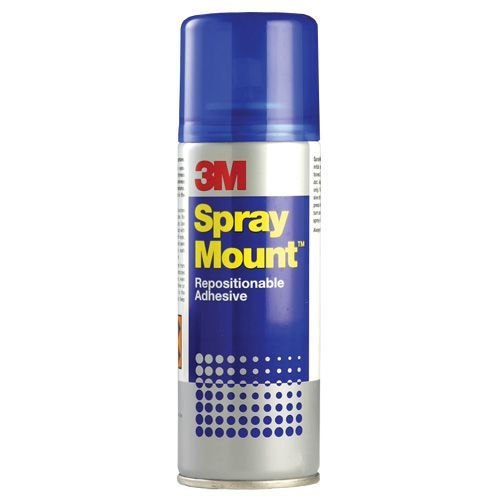 3M Spray Mount Adhesive Spray CFC Free  400ml