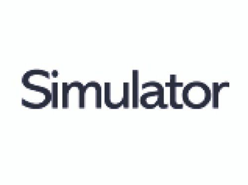 Simulator Transparent SRA2 450x640mm 140gm Pack 250