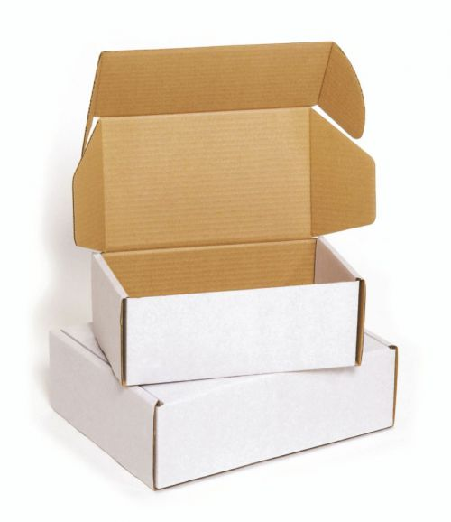 Colompac Postal Box Brown CP080.04 Int 192x155x43mm Ext 212x161x48mm Pack 20