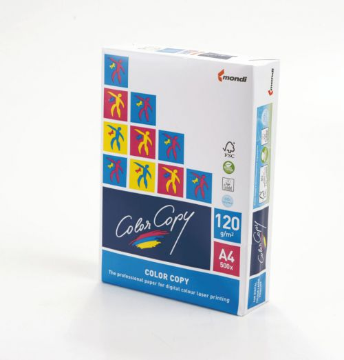 Color Copy Paper FSC Mix Credit SRA3 450x320 mm 120Gm2 White Pack of 250