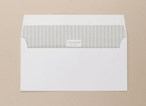 Communique Wallet Envelope Peel Seal Window 18Up 20Flhs 100Gm2 DL 110x220mm White Pack of 500