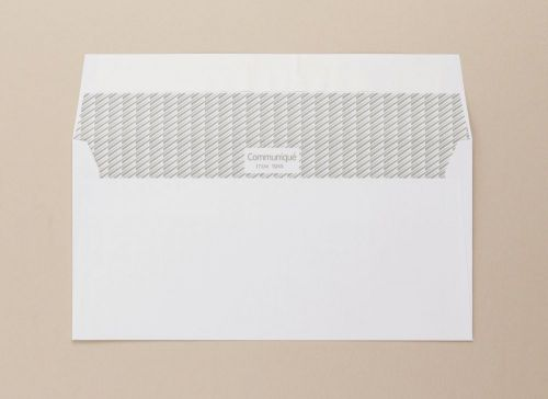 Communique Wallet Envelope Superseal DL 110x220mm 100Gm2 White Pack of 500