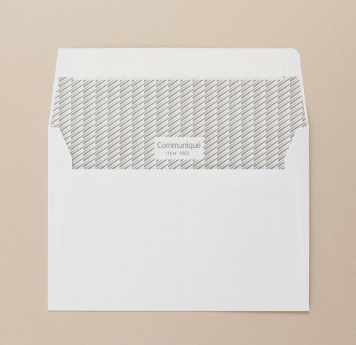 Communique Wallet Envelope Peel Seal Window 38Up 17Flhs C6 114x162mm 100Gm2 White Pack of 500