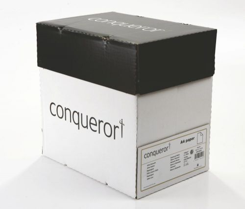 Conqueror Paper Mixed Sources CX22 Smooth/Satin FSC4 A4 Diamond White 100Gm2 Watermarked Pack 500