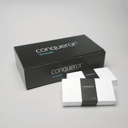 Conqueror CX22 Diamond DL Envelope FSC4 110X220mm Sup/Seal Box500 Wdw 22Up 17Lhs