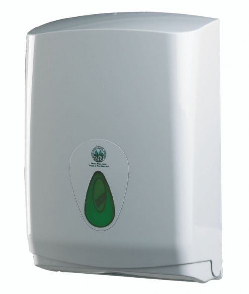 Folded Hand Towel Dispenser Large