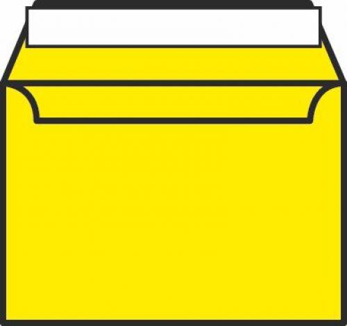 Blake Creative Colour Banana Yellow Peel & Seal Wallet 162X229mm 120Gm2 Pack 500 Code 303 3P