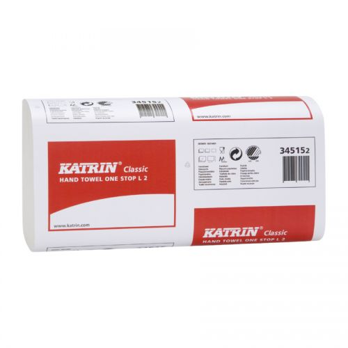 Katrin Plus Ns M2 Wide White 2 Ply 135 Sheets 240 x 255mm Pack 15 344488