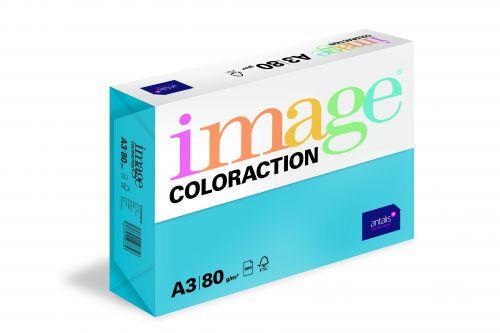 Image Coloraction Stockholm FSC Mix Credit A3 297x420mm 80Gm2 Deep Blue Pack of 500