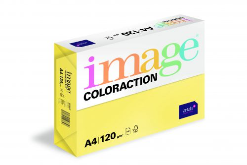 Image Coloraction Canary FSC Mix Credit A4 210x297 mm 120Gm2 Mid Yellow Pack of 250