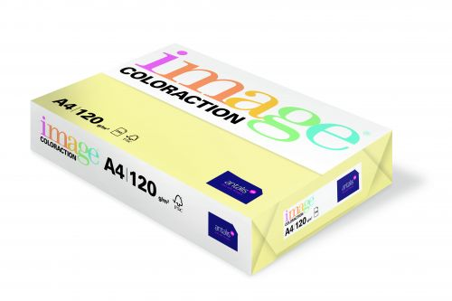 Image Coloraction Desert FSC Mix Credit A4 210x297 mm 120Gm2 Pale Yellow Pack of 250