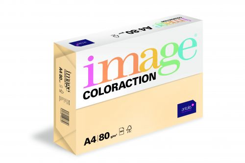Image Coloraction Beach FSC Mix Credit A4 210x297 mm 80Gm2 Pale Beige Pack of 500