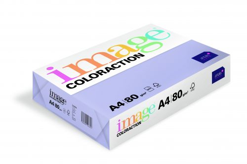 Coloraction Tinted Paper Mid Lilac (Tundra) FSC4 A4 210X297mm 80Gm2 Pack 500