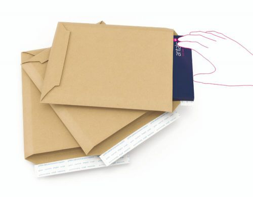 Colompac Rigid Envelope CP010.08 Int 340x500x50mm Ext 353x518mm Pack 100
