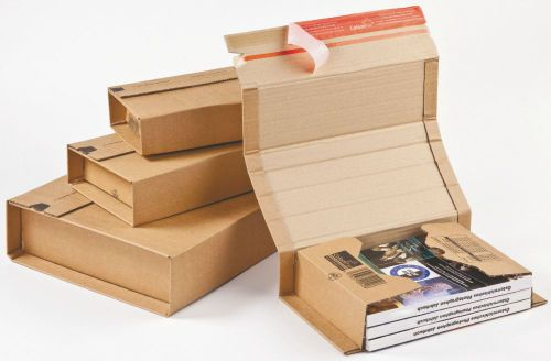 Colompac Postal Wrap CP020.12 Int 325x250x80mm Ext 380x265x100mm Pack 20