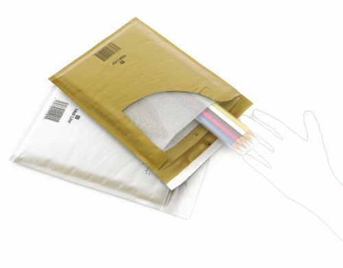 Sealed Air Mail Lite Mailers G/4 Gold Int 240mm x 330mm Box 50