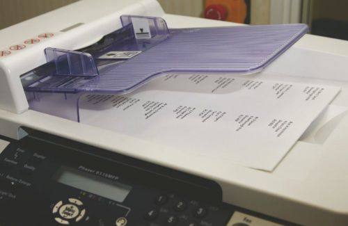 Xerox MonoLaser HS Labels 16Up A4 103x36mm White Uncoated Permanent Packed 500 003R96281