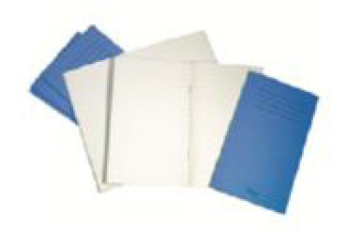 Notebook 7mm Ruled Centre Margin 165x102mm Blue 48 Page Pack of 100 NB01252 3P