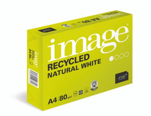 Image Recycled Iso80 100%Recycled A3 420X297mm 80Gm2 Pack 500