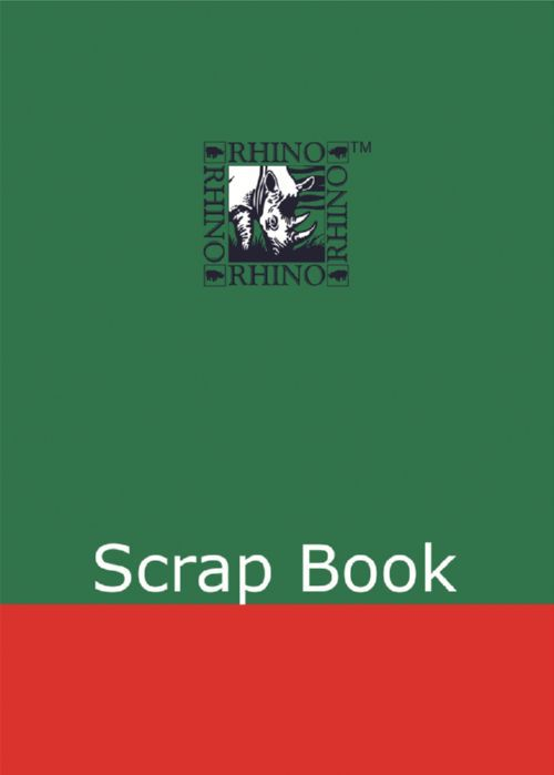 Rhino Scrap Book 330x235mm Assorted 36 Page Pack of 6 SB6 3P