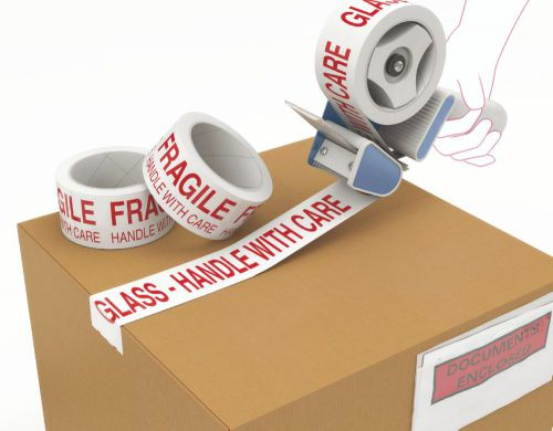 HTA Ptd Tape Fragile 50mm x 66m x 36s