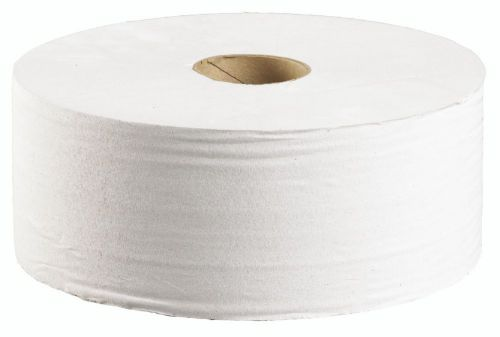 Jumbo Toilet Roll 2ply White 76mm Core 100% Recycled 300m