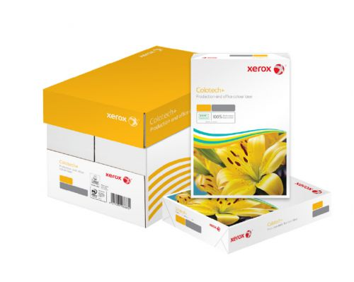 Xerox FSC Coltech+ Digital Colour Paper Prem Ream-Wrapped ColorLok  90gsm A4 White Ref 64487 [500 Sheets]
