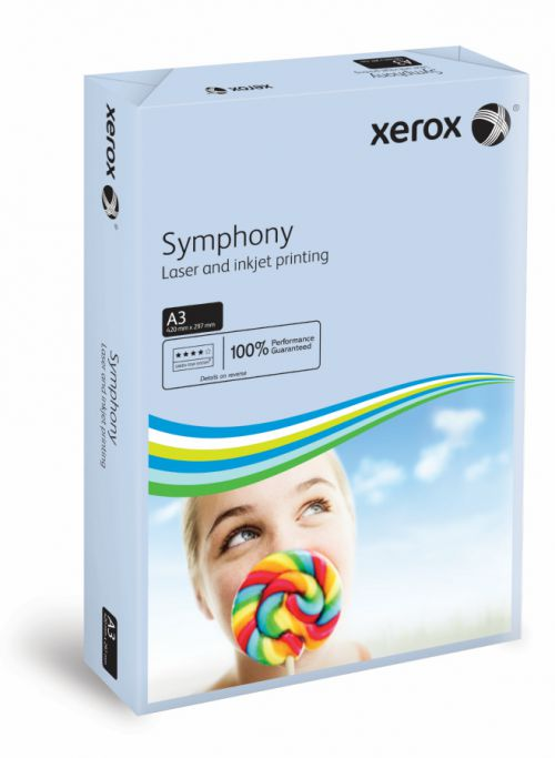 Xerox Symphony PEFC2 A3 297x420mm 80Gm2 Pastel Blue Pack of 500 003R91953