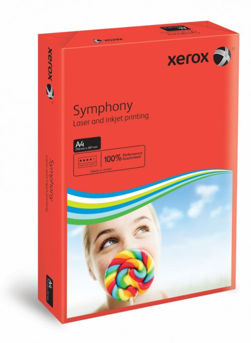 Xerox Symphony PEFC2 A4 210x297 mm 80Gm2 Strong Dark Red Pack of 500 003R93954