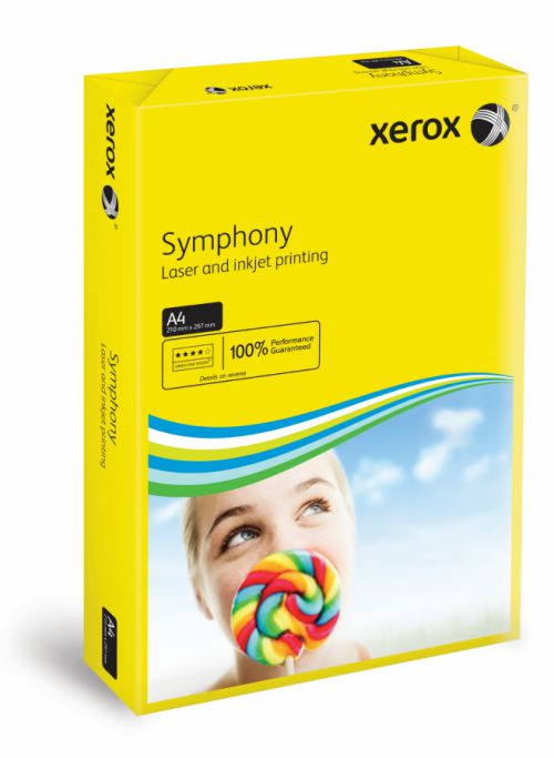 Xerox Symphony PEFC2 A4 210x297 mm 80Gm2 Strong Dark Yellow Pack of 500 003R93952