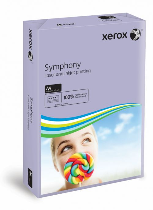 Xerox Symphony PEFC2 A4 210x297 mm 80Gm2 Mid Lilac Pack of 500 003R93969