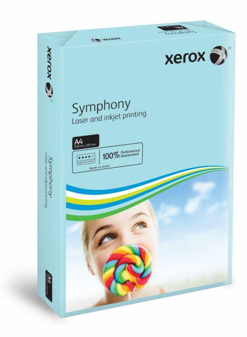 Xerox Symphony PEFC2 A4 210x297 mm 80Gm2 Mid Blue Pack of 500 003R93968