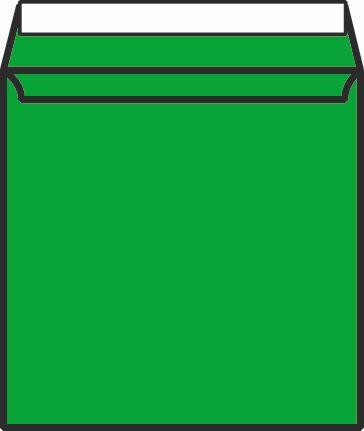 Metallic Bubble Padded Wallet Peel & Seal Green 165x165 Pack 200 MBGRE165