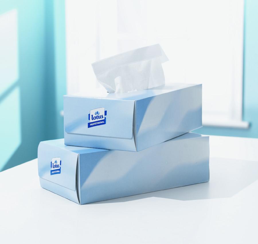 Tork Extra Soft Facial Tissue White 2 Ply 150sh/Pk 24CT 476417
