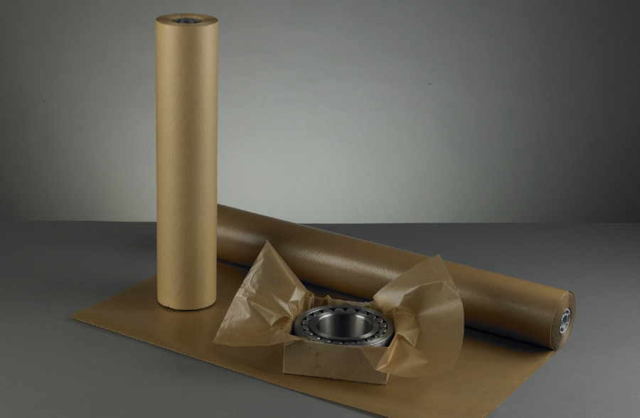 Masterline Waxed Kraft Roll 65gsm 900mm x 100m