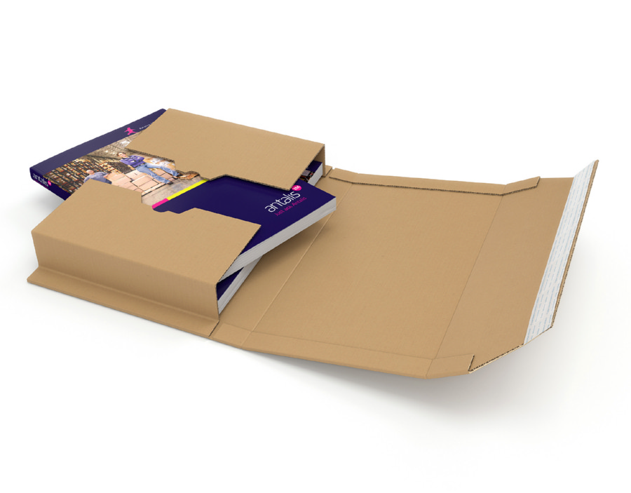 Colompac Folder Postal Wrap White CP055.51 Int 320x290x80mm Ext 370x295x85mm Pack 20
