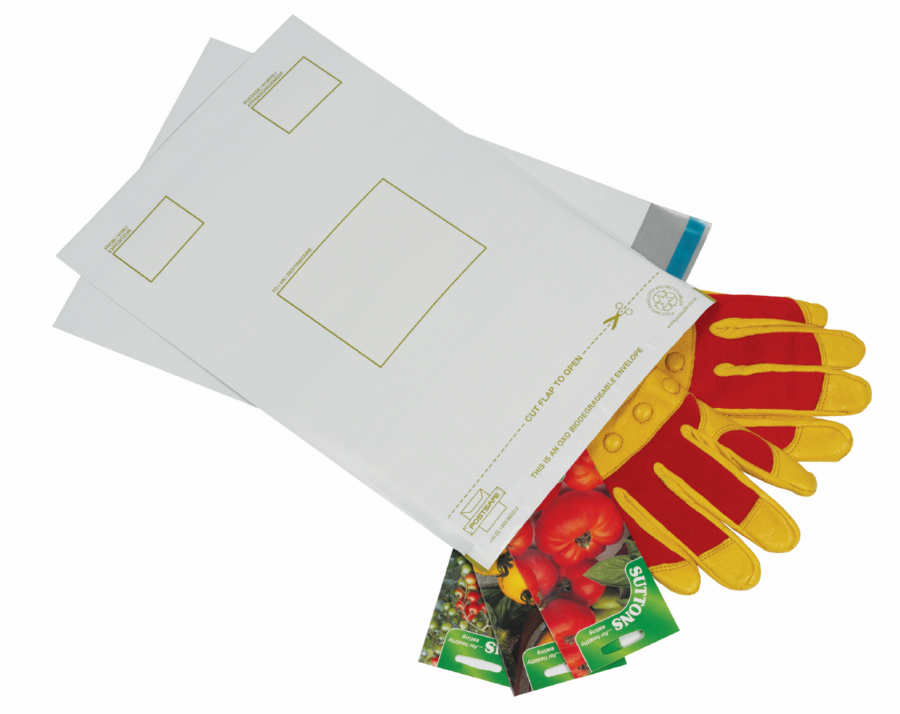 Postsafe Biodegradable Envelope C4 230x320mm White Pack 100
