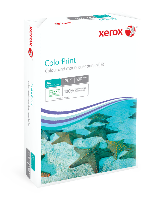 Xerox ColorPrint A4 210X297mm 120Gm2 FSC Mix 70% LG Pack 500 003R96602